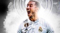 Азар подписа с Реал за следващите пет сезона