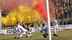 """8000 """"бултраси"""" създадоха страхотна атмосфера на стадион """"Христо Ботев"""""""