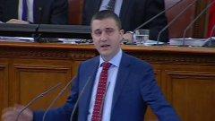 В края на 45-минутната си реч пред парламента Владислав Горанов намекна, че ако правителството не получи инструменти за предстоящите плащания, ще подаде оставка.