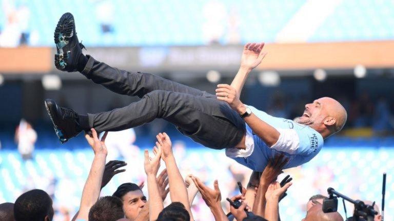 Пеп Гуардиола - за фантастичния сезон с Манчестър Сити