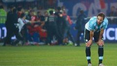 Игуаин явно още не е превъзмогнал загубата на финала на Копа Америка