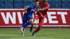 Станислав Иванов направи няколко сериозни пропуска, но в 91-ата минута заби втория гол за победата