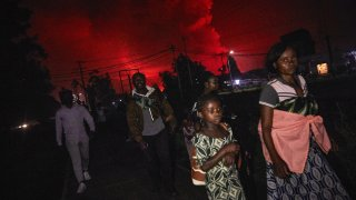 Град Гома е дом на 2 милиона души.