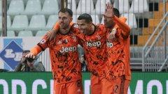 "Роналдо с нови два гола при разгром на Юве, излезе начело в Серия ""А"""