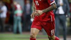Александър Коларов вкара гола, доближил Сърбия до Мондиал 2018