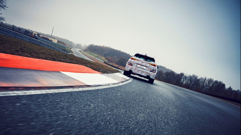 Kona N - новият пъргав кросоувър в спортната серия на Hyundai