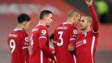 Ливърпул изравни 15-годишен антирекорд след равенството срещу Юнайтед