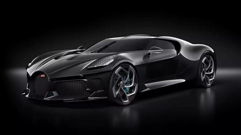Bugatti La Voiture Noire беше продадена за 16,8 млн. евро