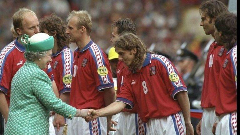 Бамбър Бридж – Чехия, 1996 г. Отличен начин да се подготвиш за Евро 96' – с мач срещу отбор от шеста дивизия в Англия.