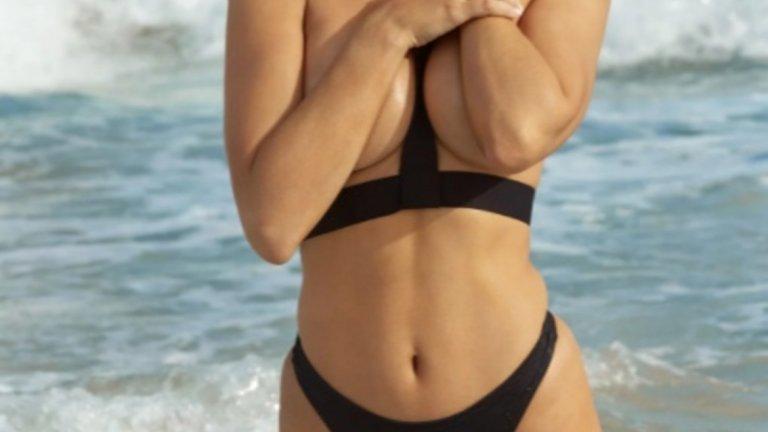 """Докато не идва фотосесията за Sports Illustrated, която й помага, както се изразява самата тя – """"да поеме контрол над тялото си""""."""