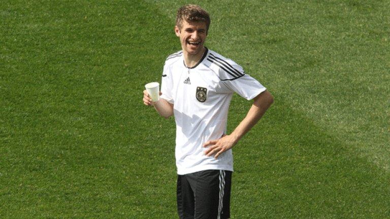 Томас Мюлер бе една от големите сензации на световното първенство миналата година