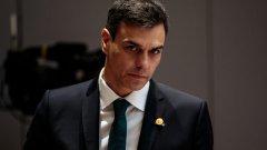 Педро Санчес успя да прокара на гласуване в парламента новото коалиционно правителство