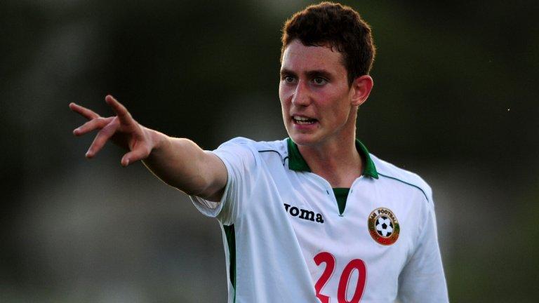 С първите си голове за националния тим Краев донесе победата над Словения