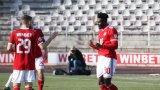 Изпусната дузпа не успя да спре ЦСКА срещу последния