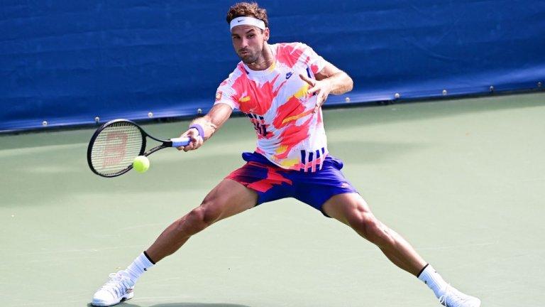 Григор отстъпи в изтощителна 5-часова битка и отпадна от US Open