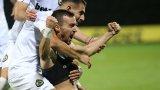 Славия нанесе първо поражение на Лудогорец за сезона с човек по-малко