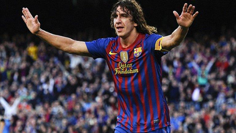 """Защитници: Карлес Пуйол – 6 (2002, 05, 06, 08, 09, 10), Барселона и Испания Пуйол спечели Шампионската лига с Барса през 2006-а, 2009-а и 2011-а, както и Евро 2008 и Мондиал 2010 с Испания. Един от най-важните играчи за каталунците и """"ла фурия"""" по онова време."""
