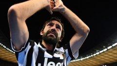 Пирло се разплака неудържимо след края на двубоя срещу Барселона в Берлин