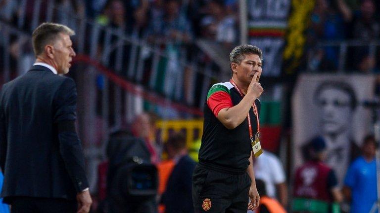 Балъков видя достатъчно причини да бъде оптимист след загубата от Чехия, но националният тим за пореден път представляваше мъчителна гледка за запалянковците