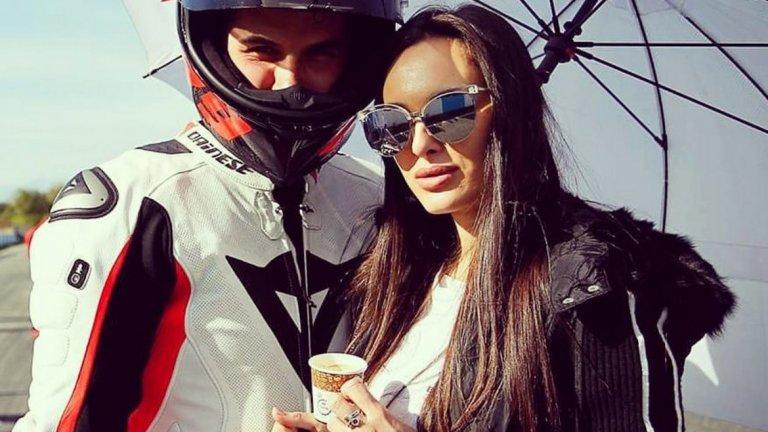 Двойка на високи скорости -  шампионът ни по мотокрос Ангел Караньотов и Ива Русинова