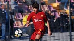 Младок на Рома повтори магическия гол на Флоренци срещу Барселона (видео)