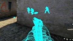 Counter-Strike е сред мултиплейър игрите, които са имали най-голям проблем с играчи, ползващи чийтове. Една от най-популярните измами дава възможност да виждате противници и съотборници през стени