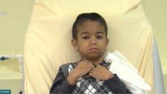 Ден преди да замине с баба си за Германия, където да получи бъбрека й, на близките на Байрям Али е съобщено, че операцията ще се направи у нас, в Правителствена болница