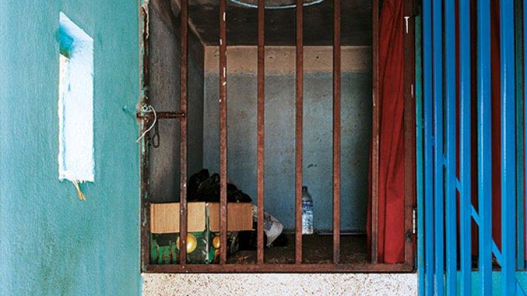Това е отреденото на Прена от Непал място за сън