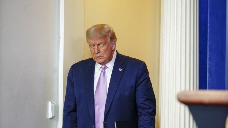 Акаунтът на президента е деактивиран за поне седмица