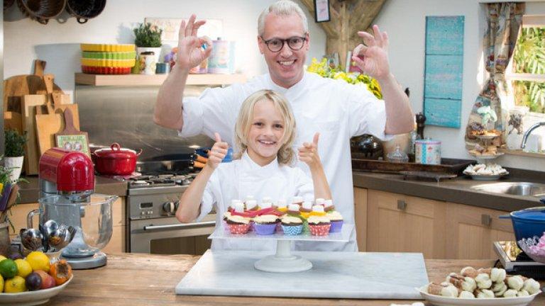 """""""Пекарната за малките с Рудолф"""" е още един формат, в който деца, които готвят по-добре от някои наши познати, се учат и показват уменията си на познатия на всички Рудолф ван Веен"""