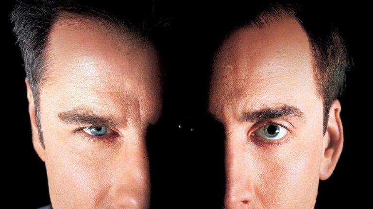 """Кастър Трой в """"Лице назаем""""  """"Face-Off"""" (1997 г.) е приятен екшън на Джон Ву с Никълъс Кейдж и Джон Траволта в главните роли - на агент на ФБР и терорист, които буквално разменят лицата си. Той обаче можеше да има много по-значимо място в историята, ако се бяха сбъднали първоначалните планове в ролите да са Силвестър Сталоун и самият Шварценегер. Все пак успяхме да видим двете легенди заедно на екран няколко години по-късно, макар и в пенсионна възраст, в Escape Plan (2013 г.)."""