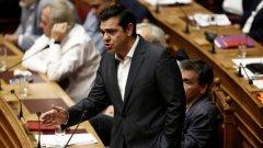 """Премиерът Алексис Ципрас определи споразумението като """"принудителен избор"""""""