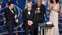 """Първият """"Оскар"""" на Енио Мориконе беше връчен от Куинси Джоунс"""