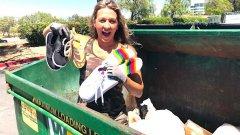 Кражба ли е вземането на продукти от боклука?