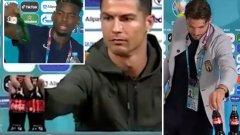 """УЕФА плаши с глоби заради """"войната срещу бутилките"""" на Евро 2020"""