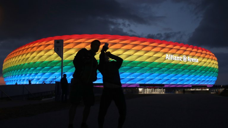 УЕФА: Дъгата не е политически символ, но искането от Мюнхен беше политическо
