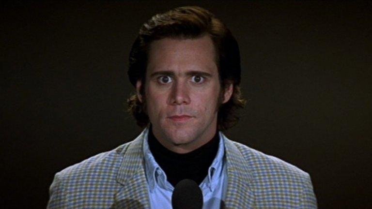 """10. Джим Кери - Комикът """"умира"""" два пъти в рамките на дни през 2014-а, поне според потребители в интернет. Слухът за смъртта му се появява на 12 януари, но изглежда никой не е уведомил Кери за кончината му, защото по-късно същата вечер той се появява на наградите """"Златен глобус"""" същата вечер. Два дни по-късно се появява нова фалшива новина за смъртта на актьора, като този път е посочено, че той е загинал в сноуборд инцидент. Негов представител отрича слуха и казва, че хората не трябва да вярват на това, което виждат в интернет. Не, че подобни призиви помагат..."""