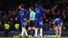 Челси получи три гола след почивката и не успя да реагира на добрата игра на противника