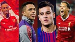 Арсенал загуби двама футболисти с права да играят в Лига Европа - Алексис Санчес и Оливие Жиру