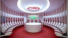 Вижте в галерията 10 от най-добрите съблекални в световния футбол.
