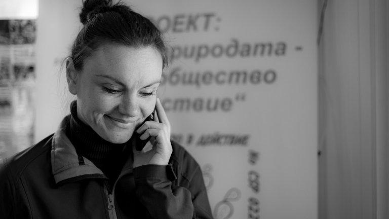 Христина Клисурова е ветеринарен лекар и поддържащ връзката с медиите към центъра.