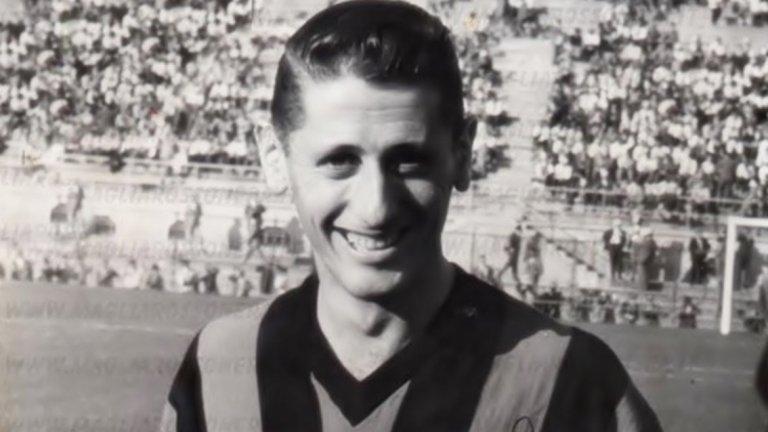 11. Хуан Алберто Скиафино Уругваецът печели три титли по време на престоя си в Милан в периода 1954-1960.