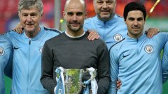 Пеп Гуардиола спечели 25-ия трофей в кариерата си като треньор