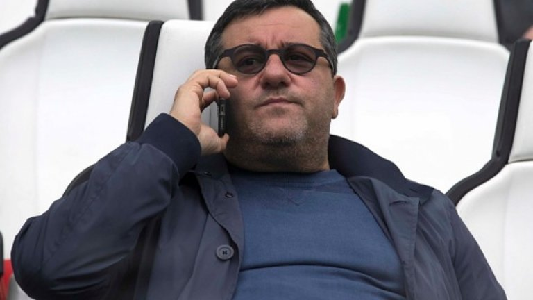 Мино Райола е прибрал 27 млн. евро при трансфера на Пол Погба от Ювентус в Манчестър Юнайтед