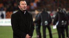 Треньорът на Литекс Ангел Червенков си изпусна нервите дни преди началото на дербито с Левски