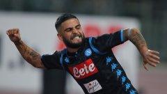 Прекрасният завършващ удар на Инсиние донесе победата на Наполи