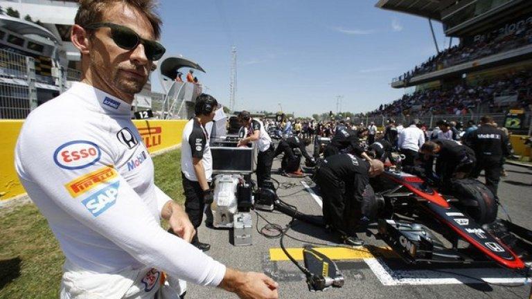За може би последния си сезон във Формула 1 Дженсън Бътън ще получи 13 милиона долара