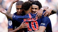 Мбапе стана първият, който достигна 10 гола във водещите първенства