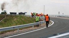 """От днес влиза в сила ограничение на скоростта в дадени участъци на автомгистрали """"Хемус"""" и """"Тракия"""" - от 140 на 90 км/ч"""