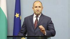 В изявлението си той посочи, че доверието към управлението на кабинета Борисов-3 е безвъзвратно загубено